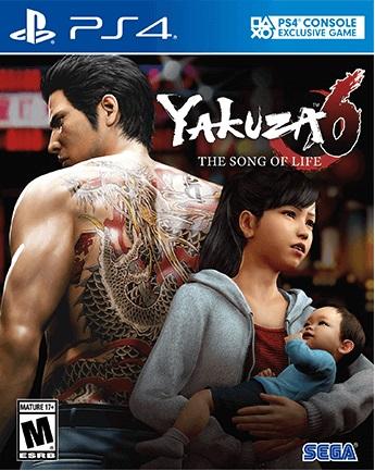 Yakuza 6 pochette