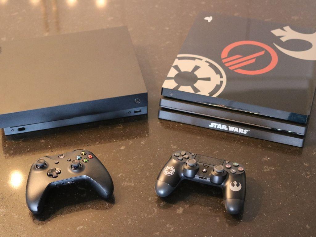 Quelle console choisir entre la Xbox One X et la PlayStation