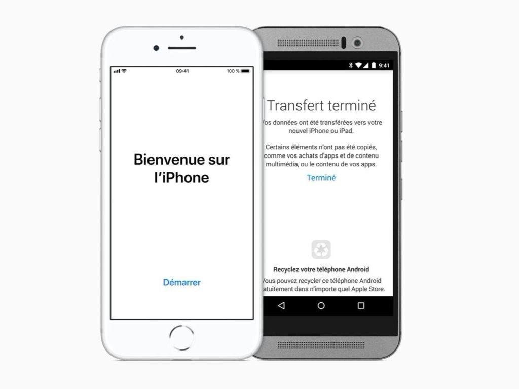 Comment Migrer Dun Appareil Android à Un Iphone