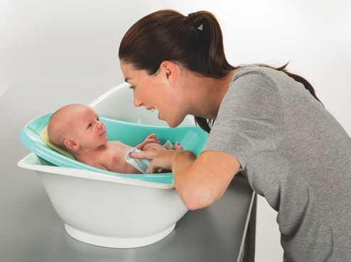 Baignoire traditionnelle convertible de Safety 1st - 0 à 24 mois