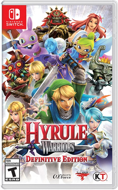 Hyrule Warriors pochette