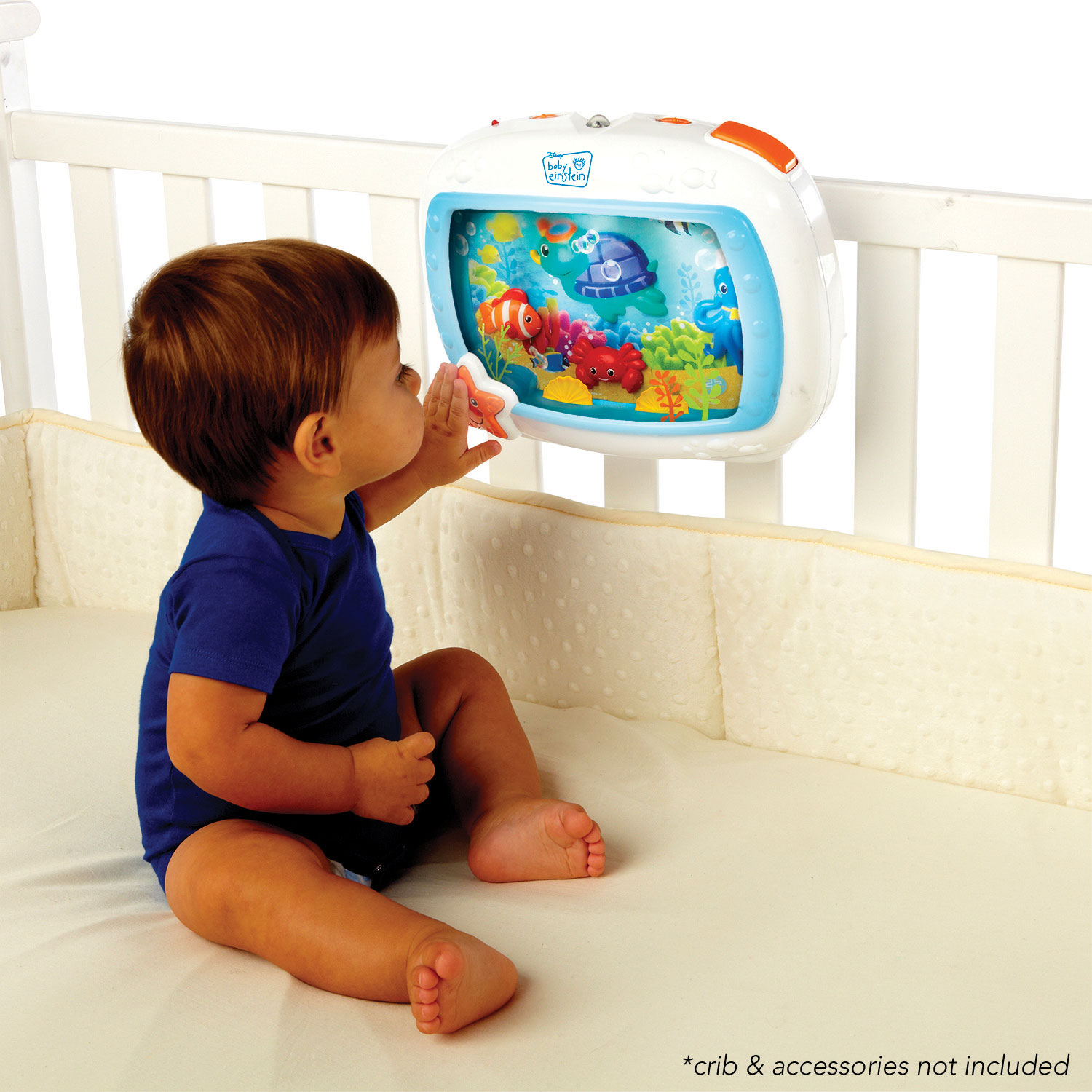 Jouet aquarium réconfortant pour berceau Sea Dream Soother de Baby Einstein