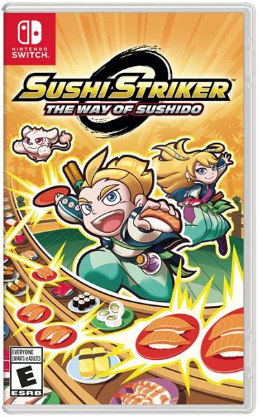 Sushi Striker pochette