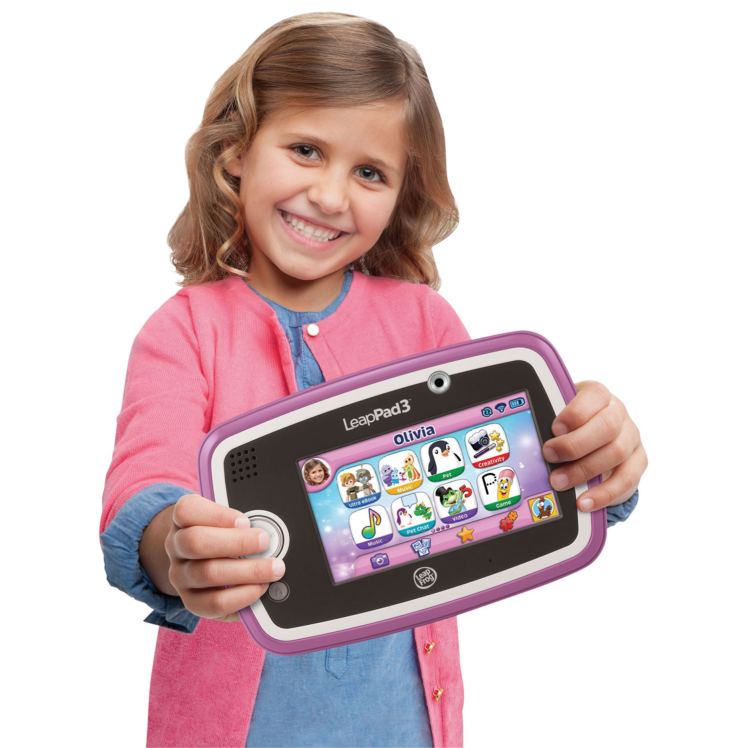 Tablette d'apprentissage LeapPad3 de LeapFrog - Rose