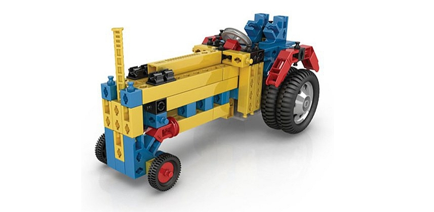 jeu de construction Engino 40 avec moteur