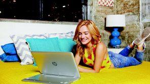 Un bon ordinateur portable, ça donne le sourire!