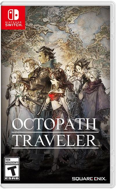 Octopath Traveler pochette