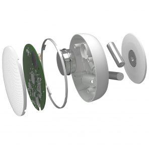 Composantes du Wave de Airthings