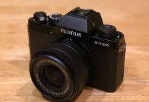 Fujifilm X-T 100 caméra