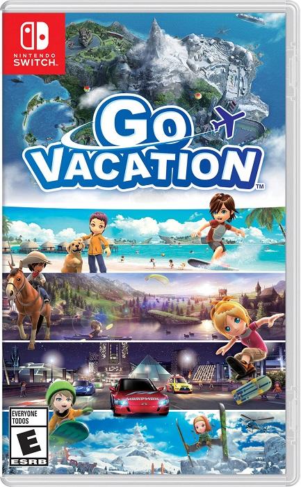 Go Vacation pochette