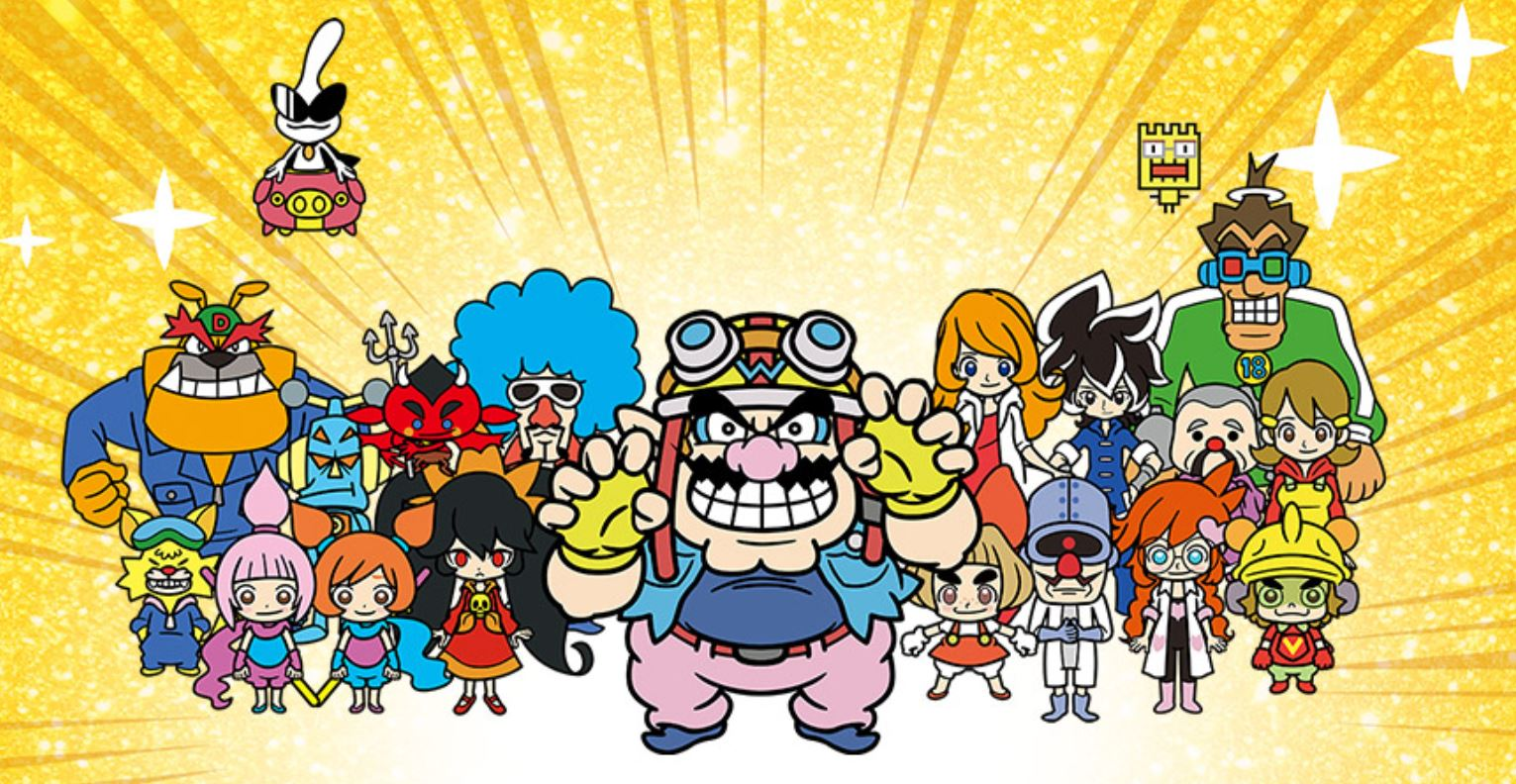 WarioWare Gold header