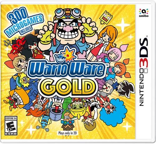 WarioWare Gold pochette