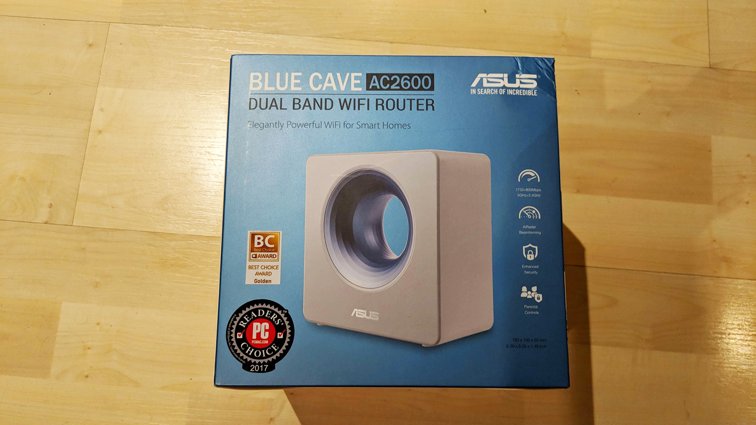 asus Blue Cave router - AC2600