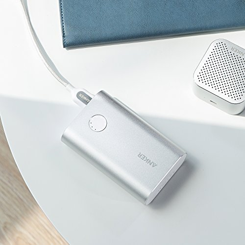 chargeur portable Powercore+ 10000 de Anker avec charge rapide 3.0