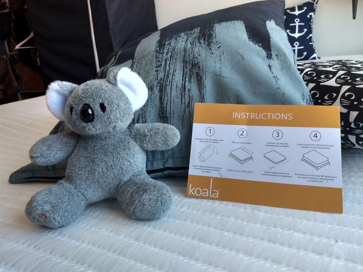 Matelas Koala instructions