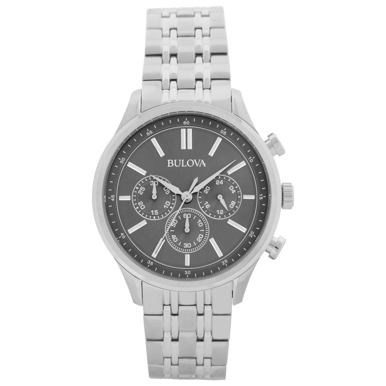montre-bijou 43 mm pour hommes avec chronographe de Bulova