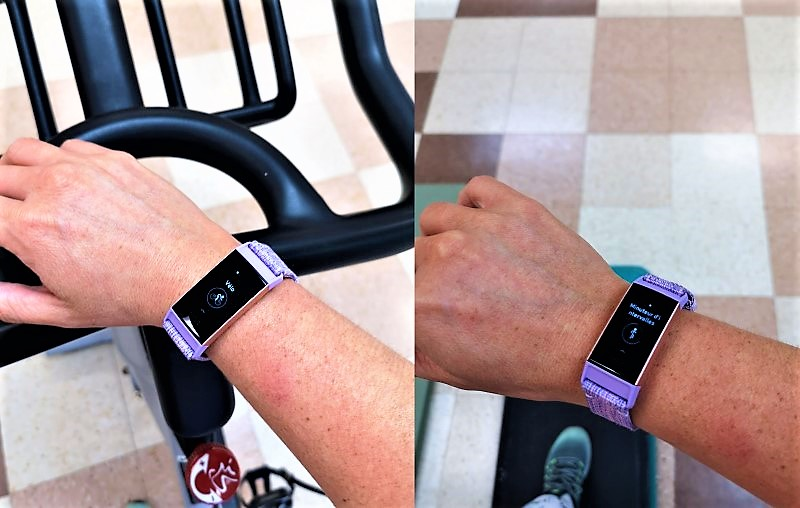 fitbit charge 3 - utilisation