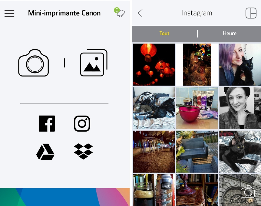 Canon IVY Mini Print Instagram