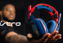ASTRO A40 headset en vedette