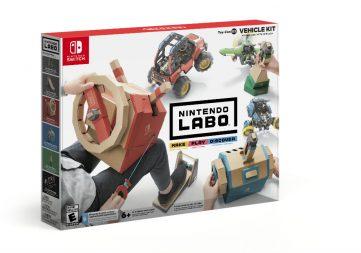 Ensemble de véhicules Nintendo Labo Toy-Con