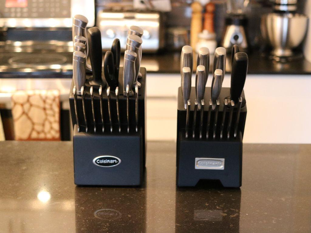 porte-couteaux de 17 pièces et de 21 pièces de Cuisinart