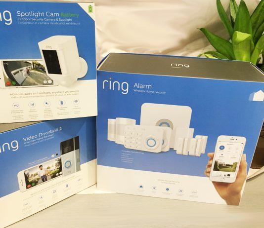 système de sécurité à domicile Ring