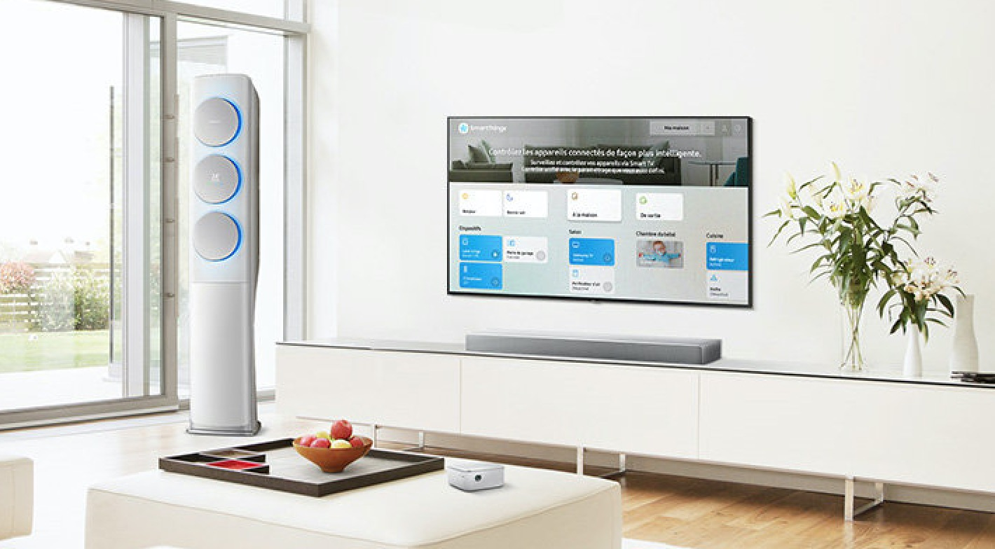 Tableau de bord SmartThings de Samsung