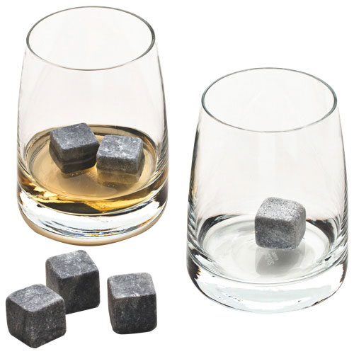 verres à whisky avec pierres à whisky de Tandem