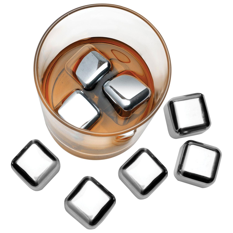cubes de glace en acier inoxydable de de Final Touch