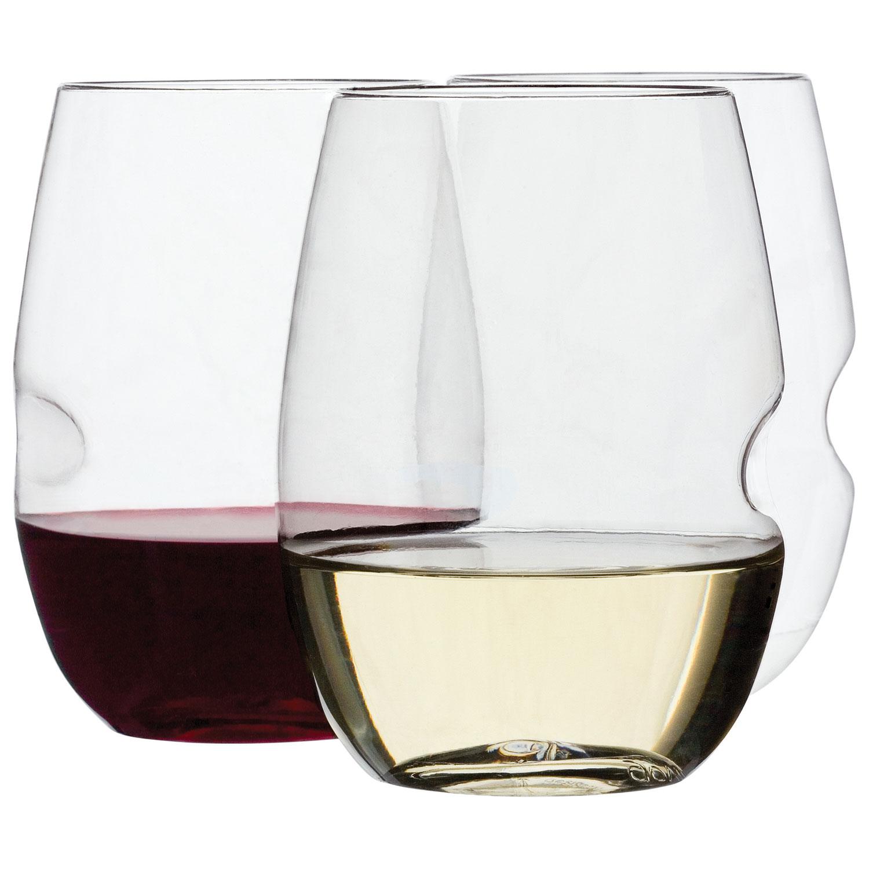 ensemble de quatre verres de vin incassable Classic de Govino