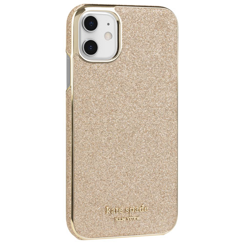 Étui rigide ajusté Gold Munera de kate spade new york pour iPhone 11 - Doré