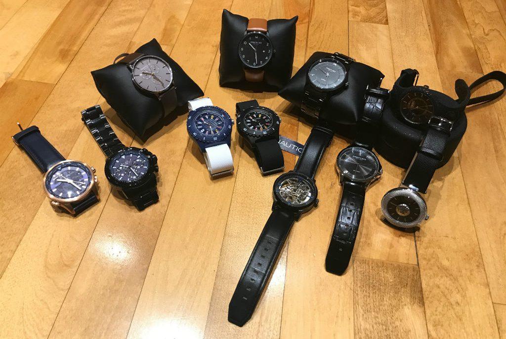 nouvelles montres - versace, nautica et kenneth cole