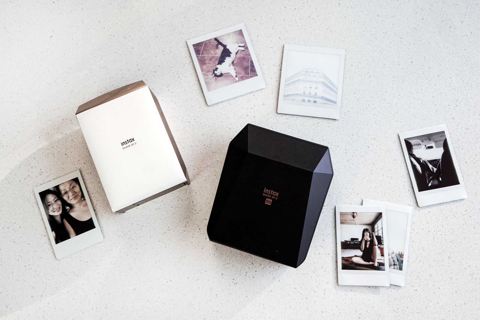 Instax Share et Square - les photos