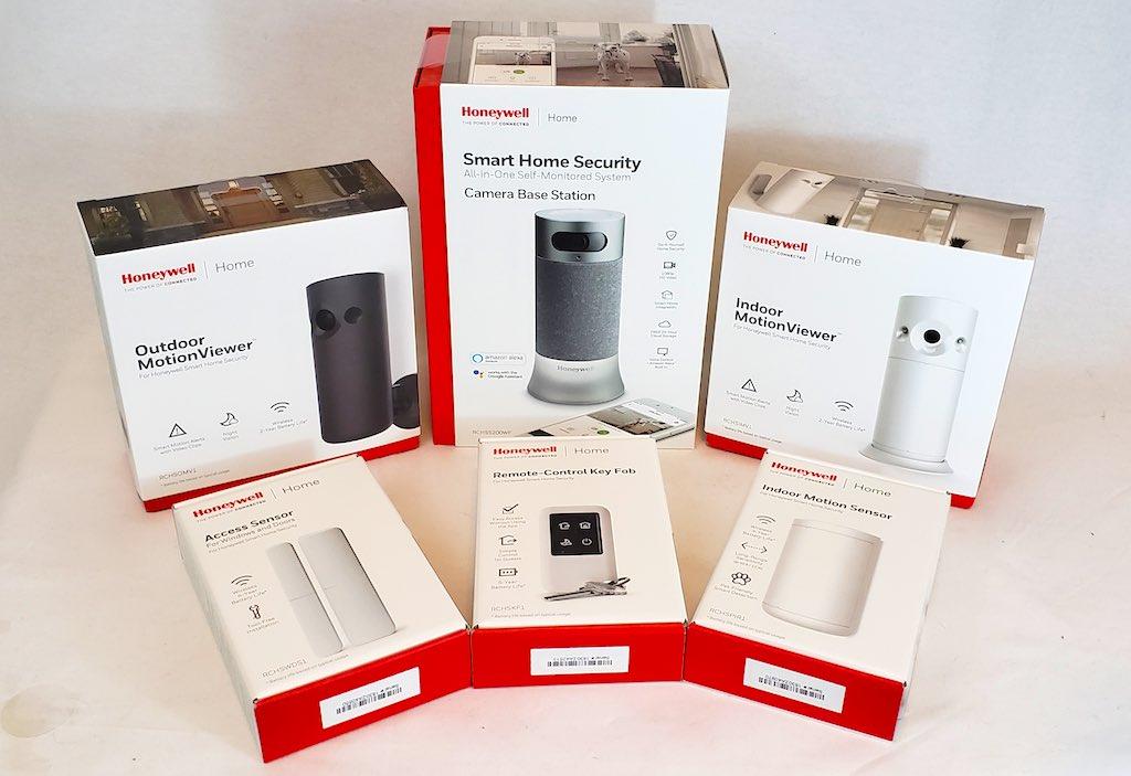 6 appareils de Honeywell