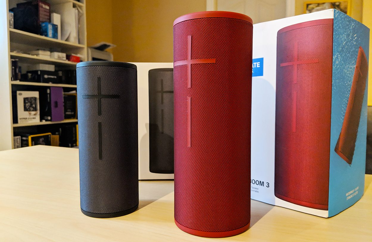 ultimate ears - boom3 et megaboom3