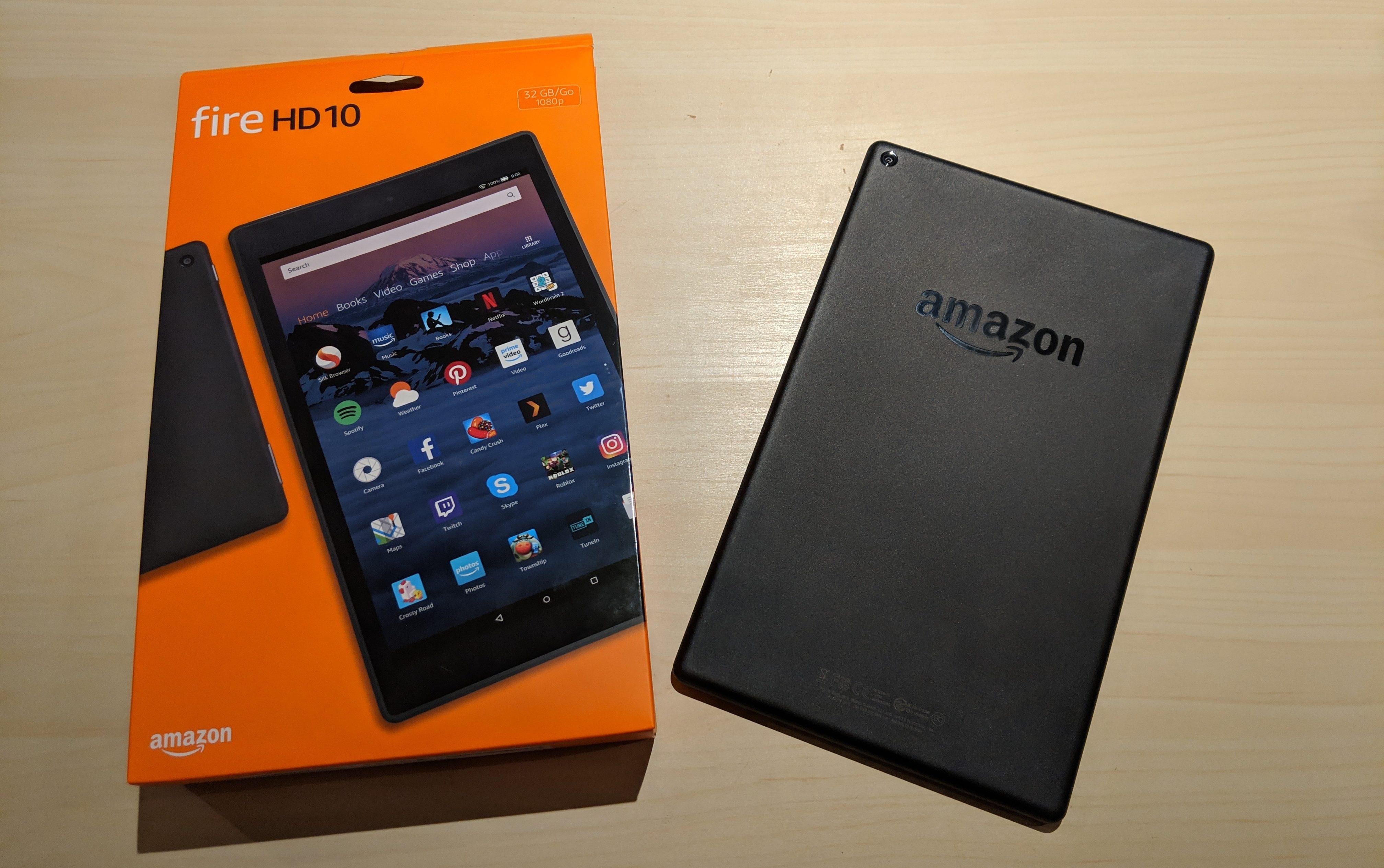 Amazon Fire HD 10