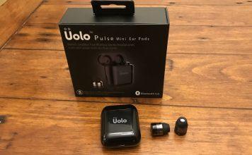 écouteurs sans fil autonomes Pulse Mini d'Uolo