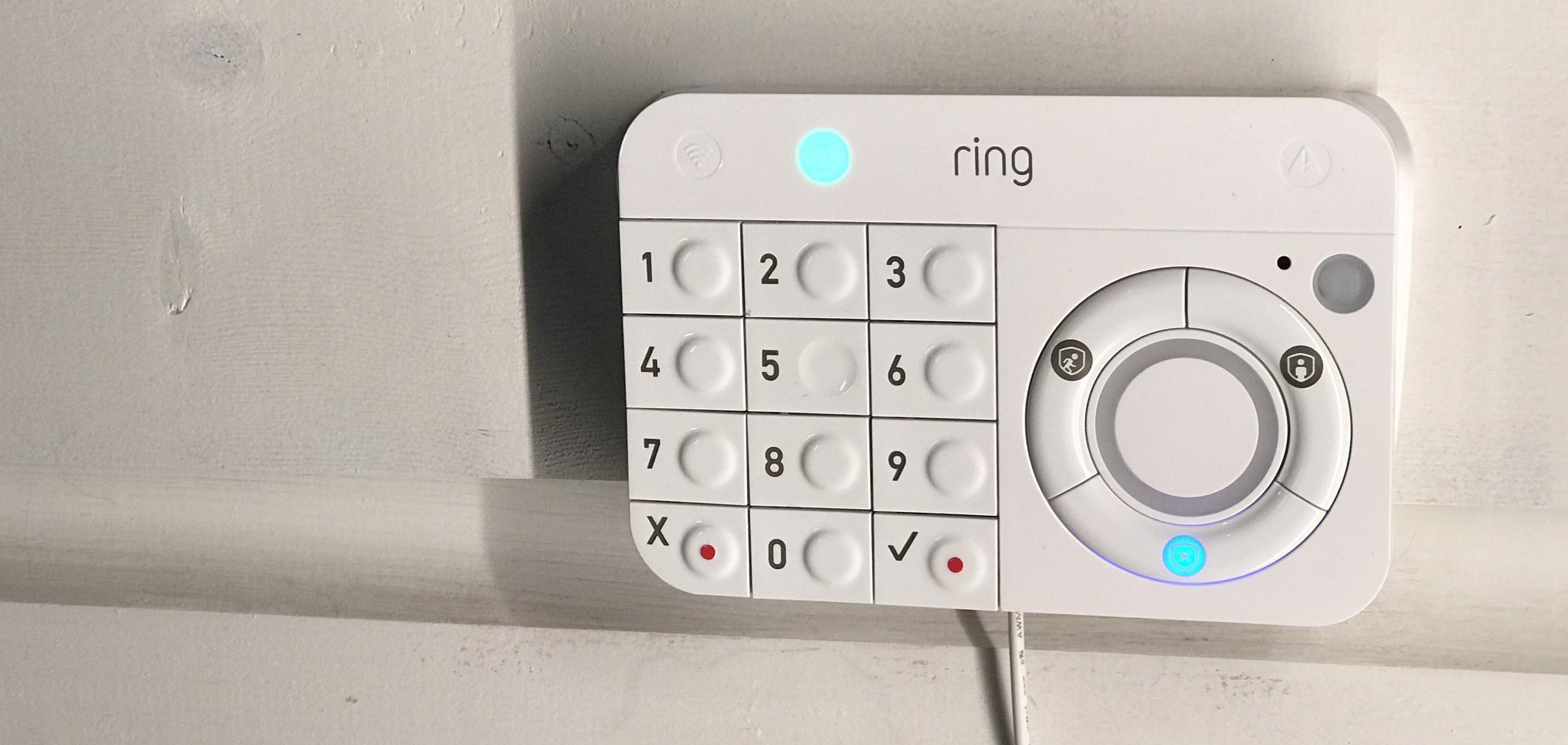 système de Ring - pavés numériques
