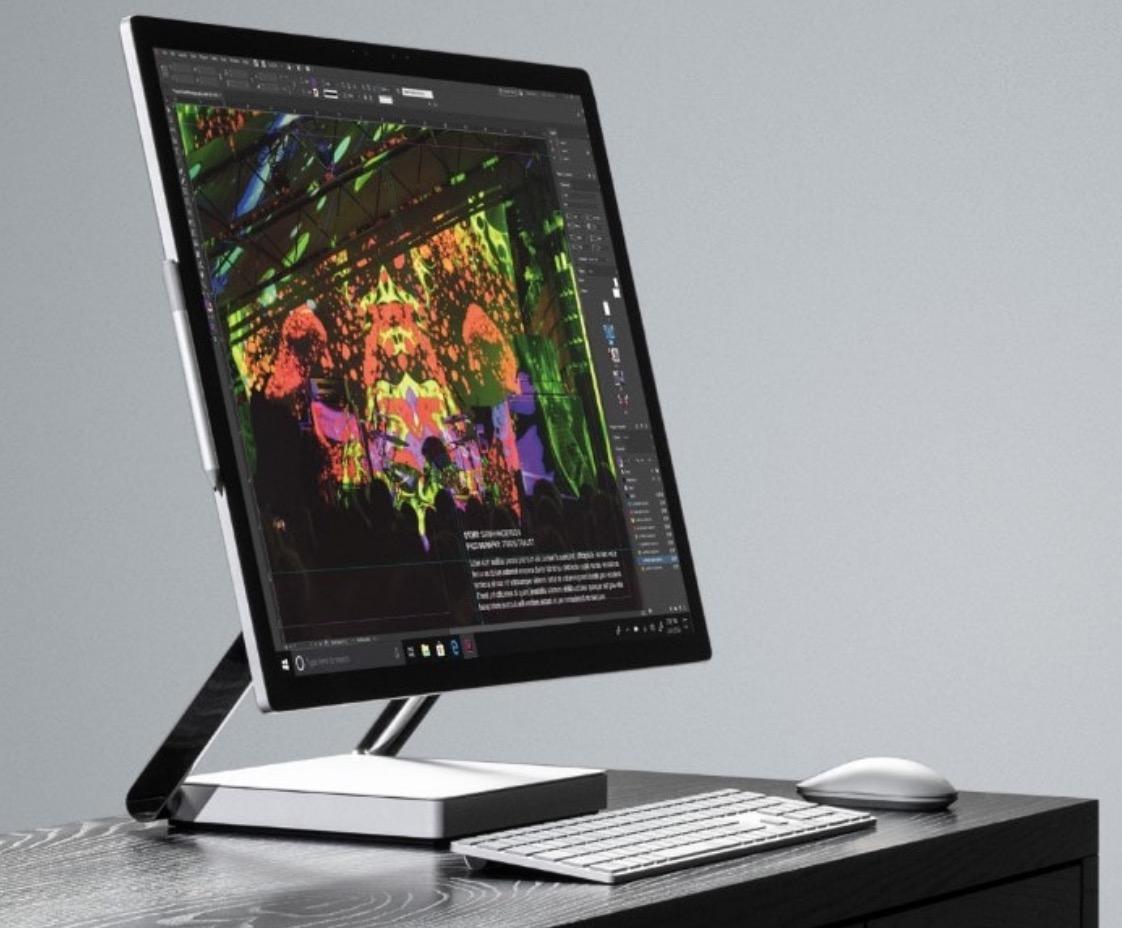 Surface Studio 2 en mode bureau