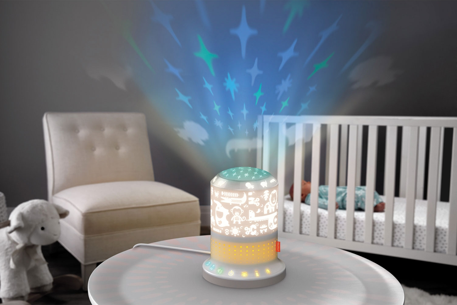Projecteur apaisant Smart Connect de Fisher-Price