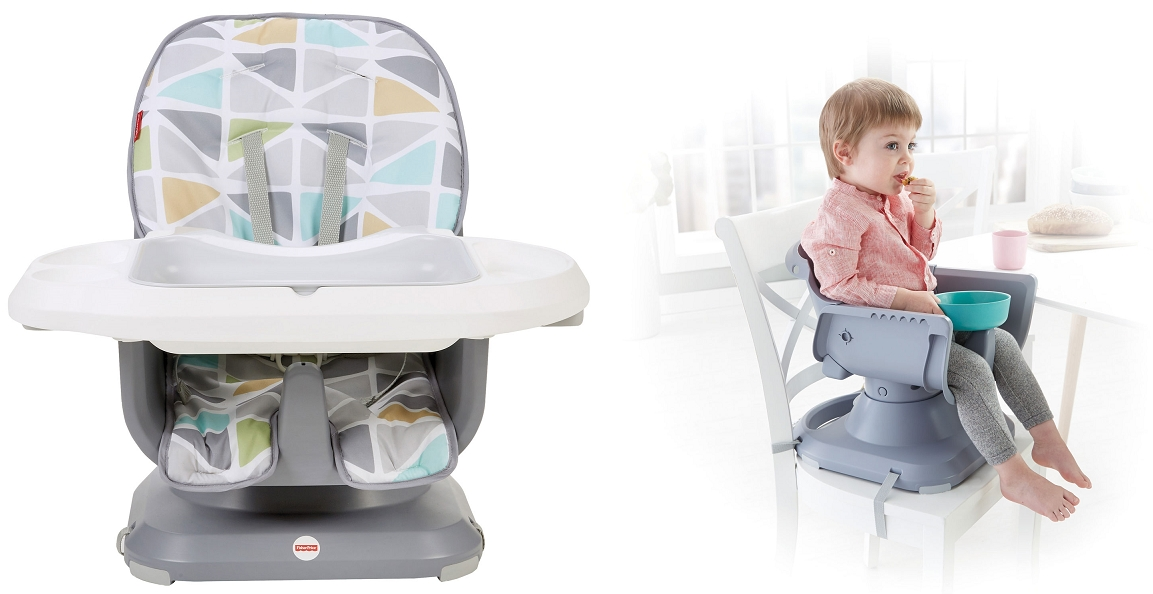 chaise haute SpaceSaver de Fisher-Price