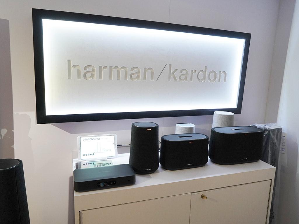 Haut-parleurs Citation de Harman Kardon. Photo: Ted Kritsonis.