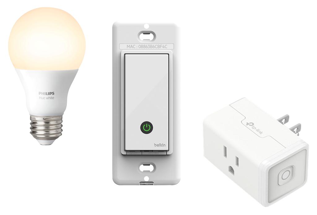 L'éclairage, les prises et les interrupteurs