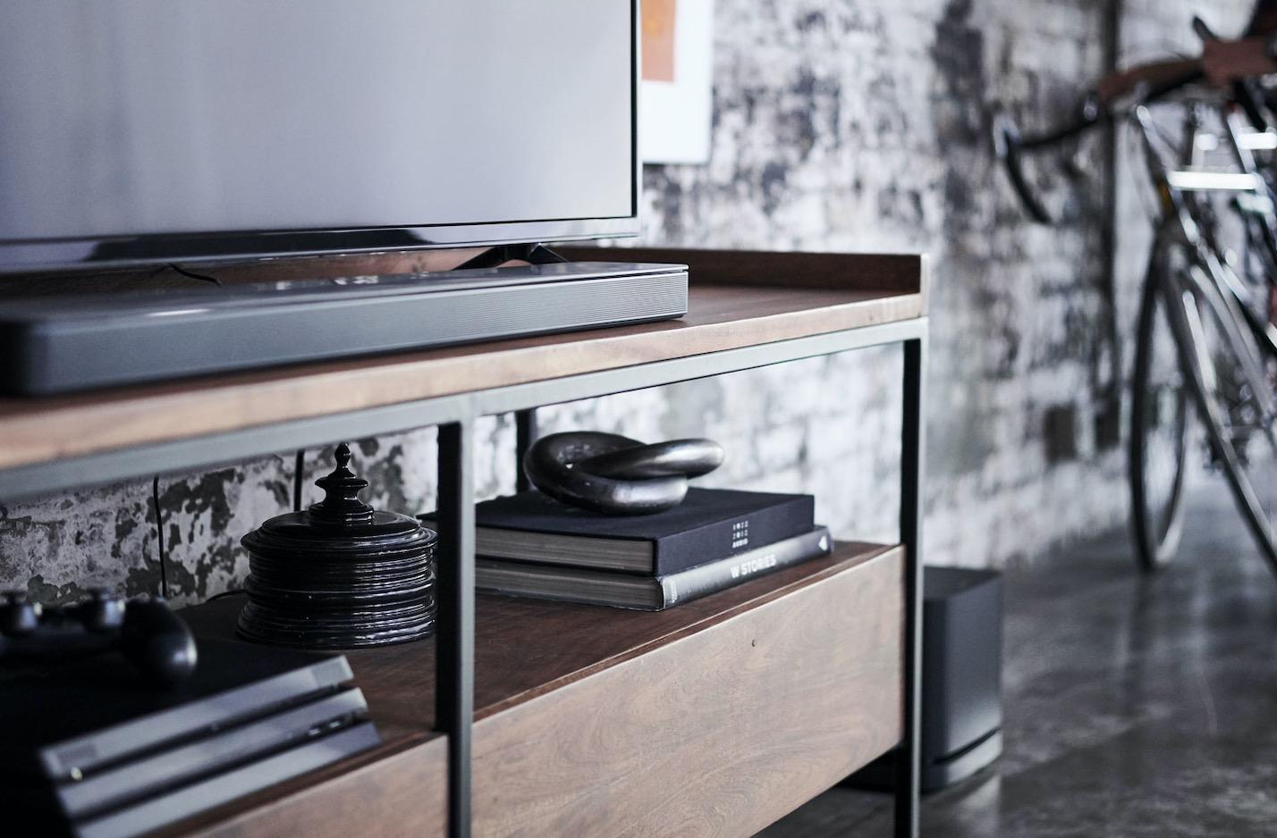 Cinéma maison avec barre de son Bose 500