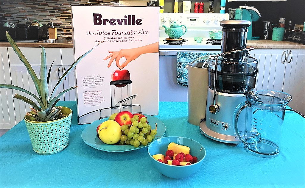 Centrifugeuse Juice Fountain Plus de Breville