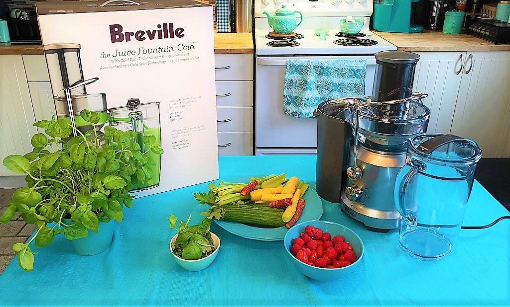 Centrifugeuse Juice Fountain Cold de Breville