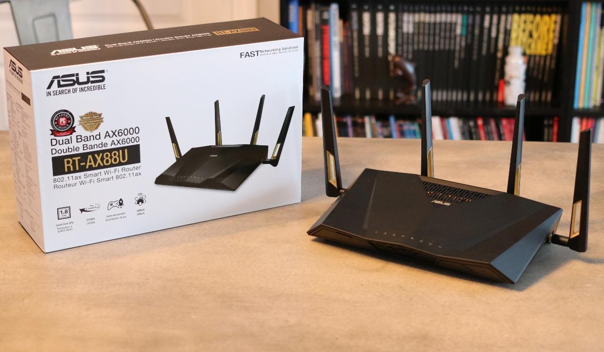 Routeur Gigabit sans fil bibande RT-AX88U d'ASUS
