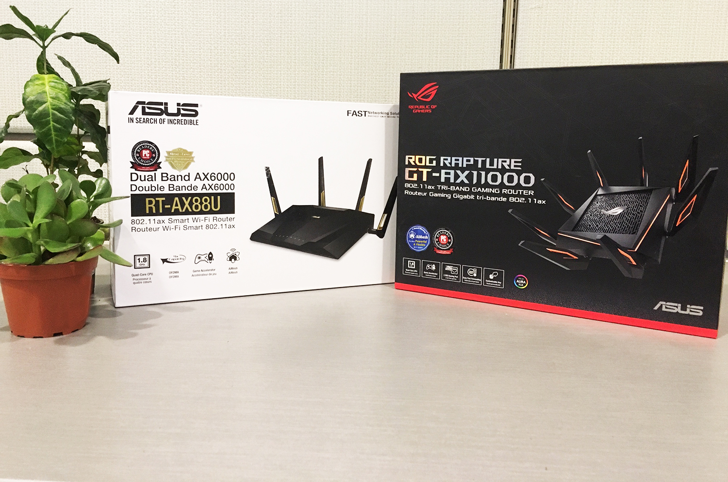 ASUS wi-fi 6 routers 802.11ax wireless standard