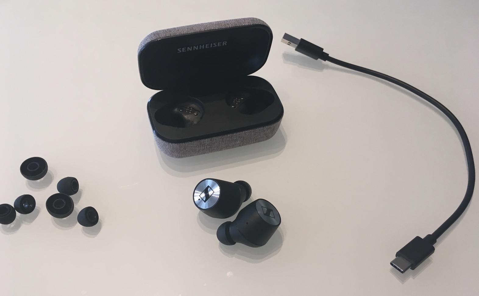 Accessoires fournis avec les Momentum True Wireless