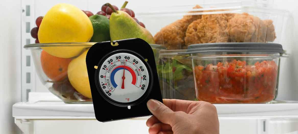 Quelle est la température idéale pour votre réfrigérateur et votre congélateur?